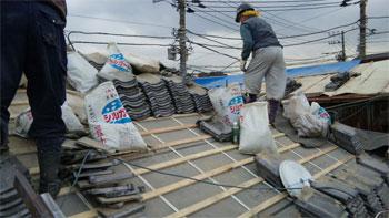 屋根の葺き替え1