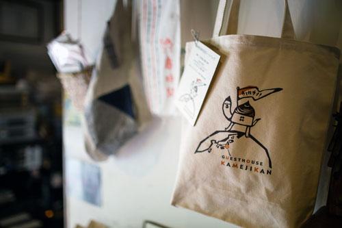 鎌倉ゲストハウス亀時間 オリジナルトートバッグ