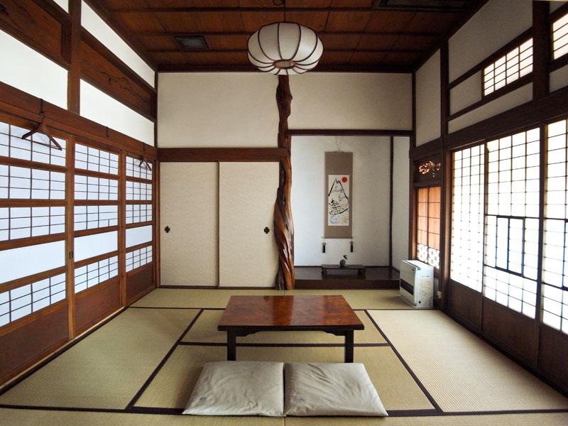 亀時間の客室 8畳間