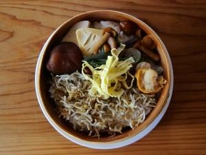 燻製シラスワッパ定食 ¥1200