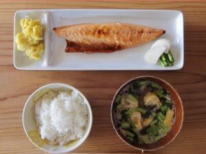 燻製文化サバ定食 ¥1000
